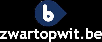 logo van zwartopwit